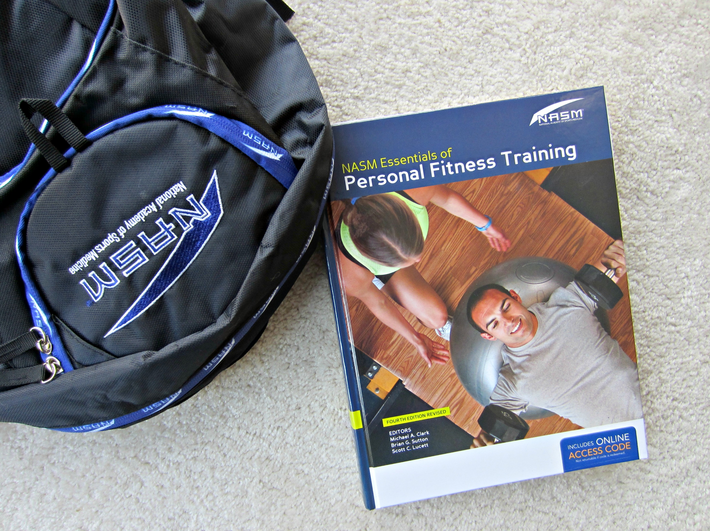 NASM CPT self-study package