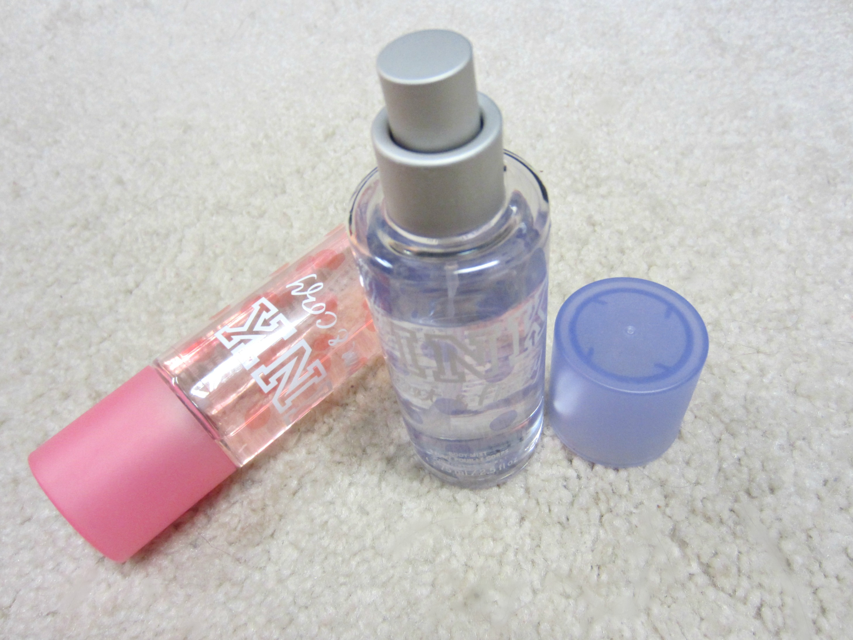PINK body sprays