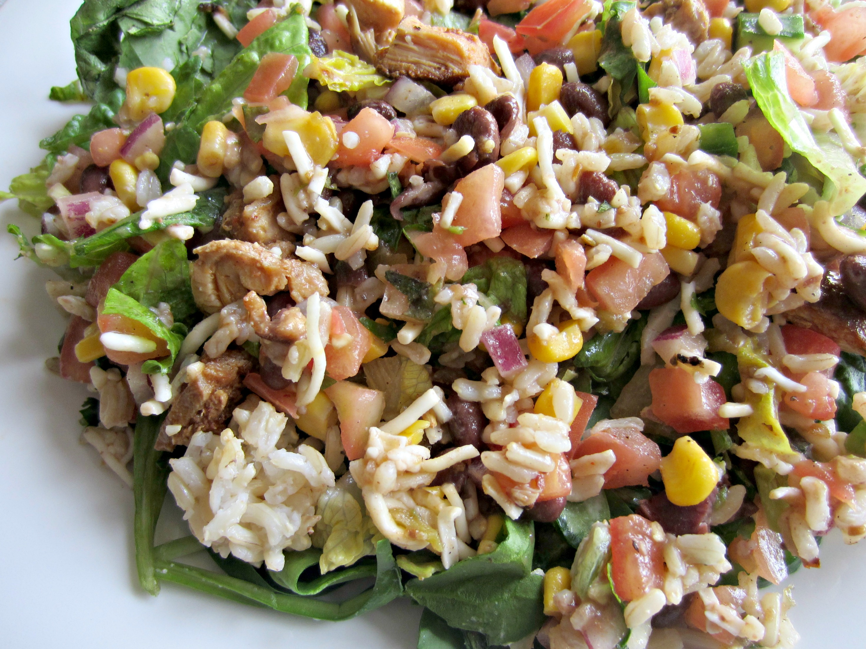 chipotle salad for leftovers