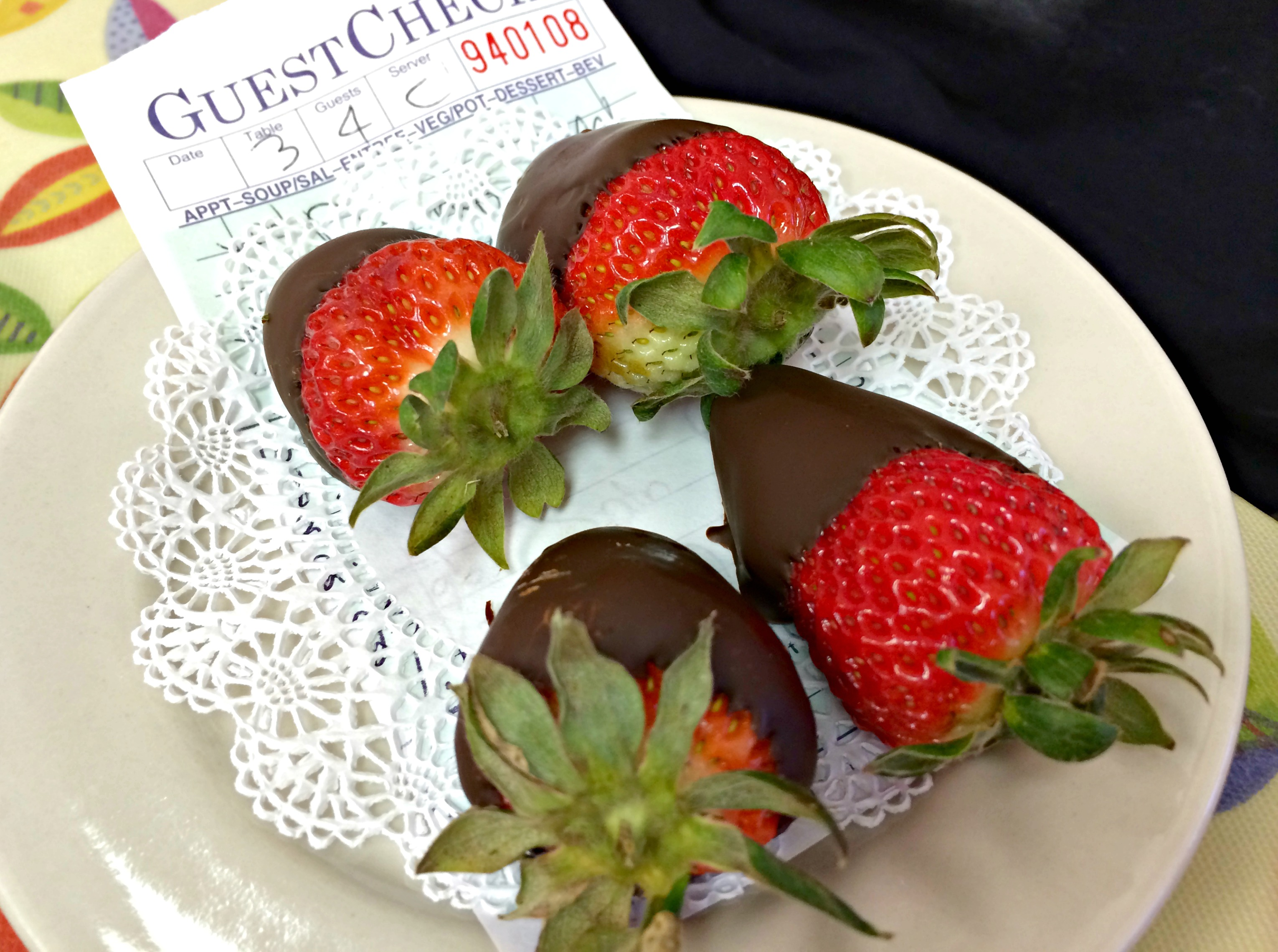 the breakfast club chocolate covered strawberries