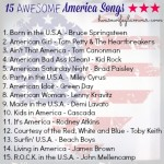 15 Awesome America Songs