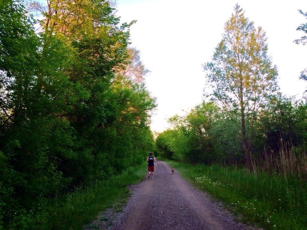 trail running with scott