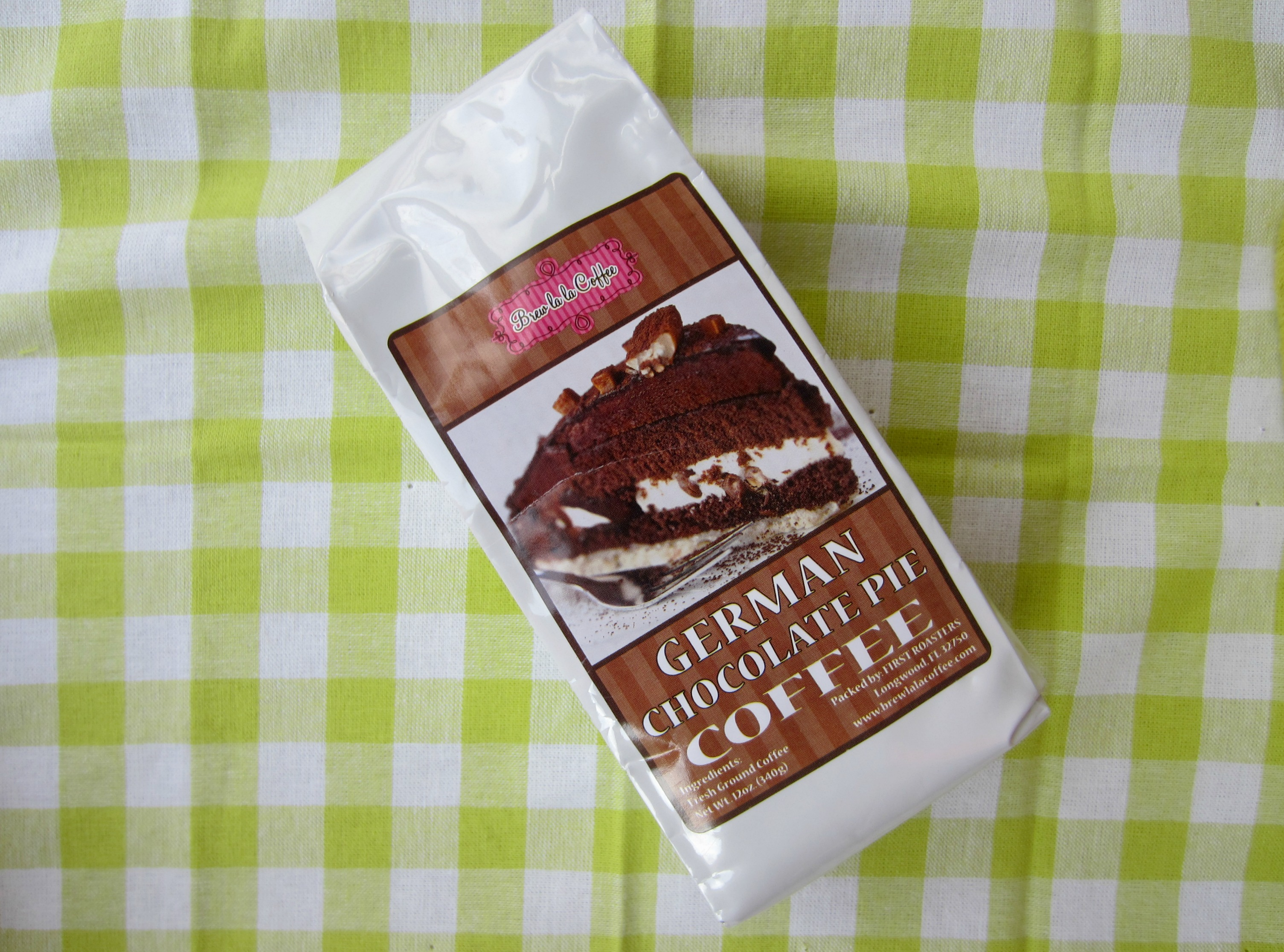 German chocolate coffee from home goods