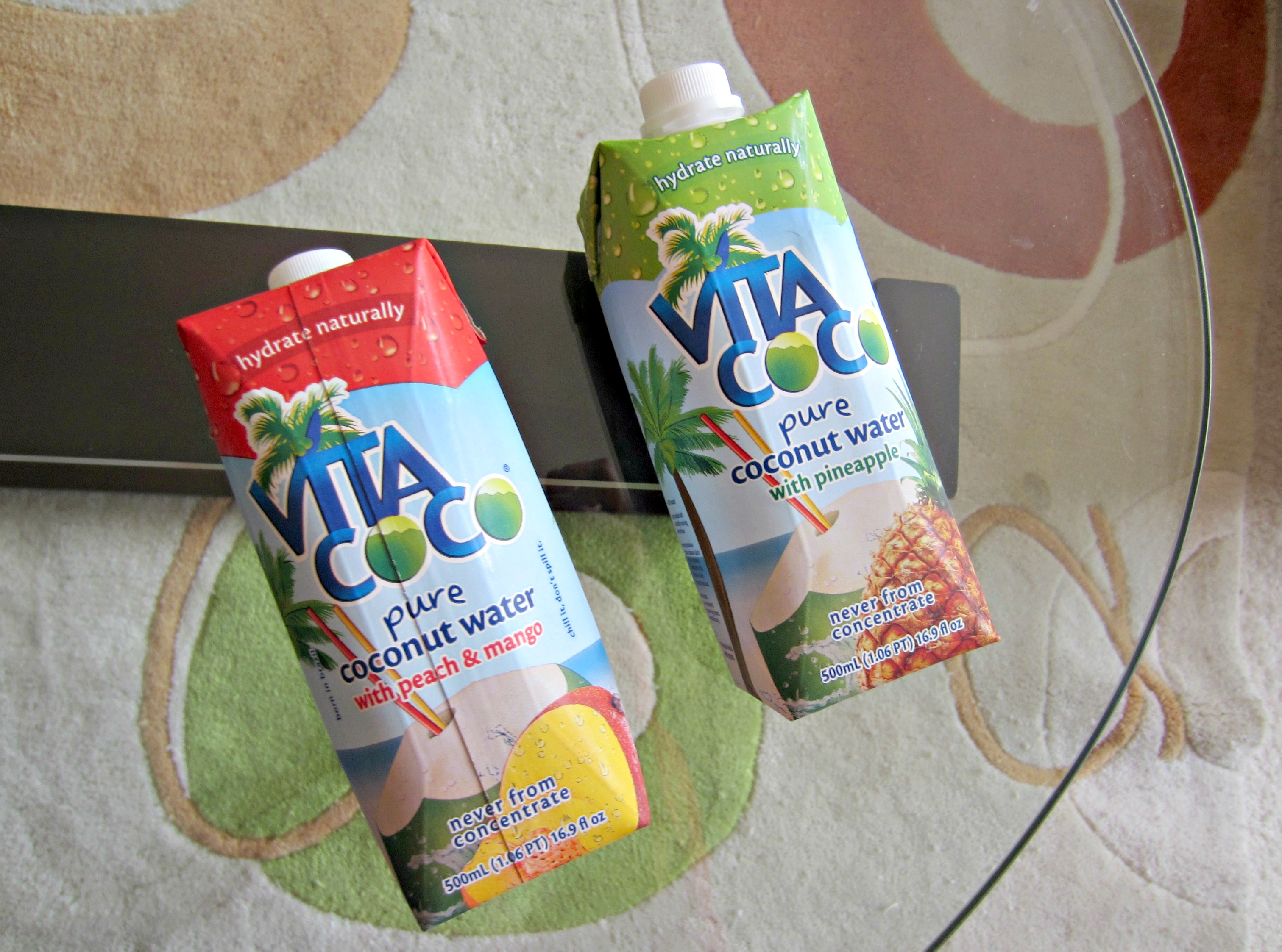 vitacoco flavored coconut water
