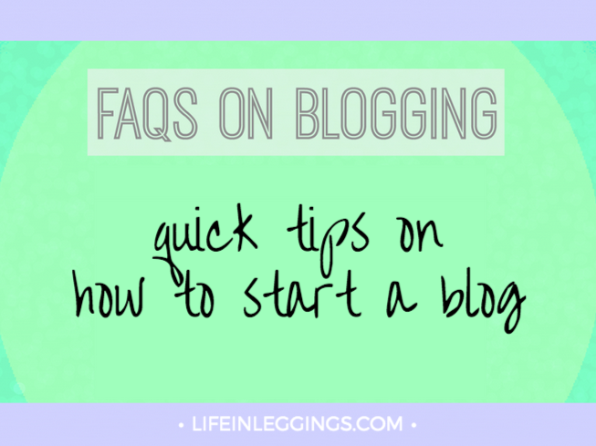 quick tips on how to start a blog