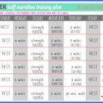 6 Week Half-Marathon Training Plan