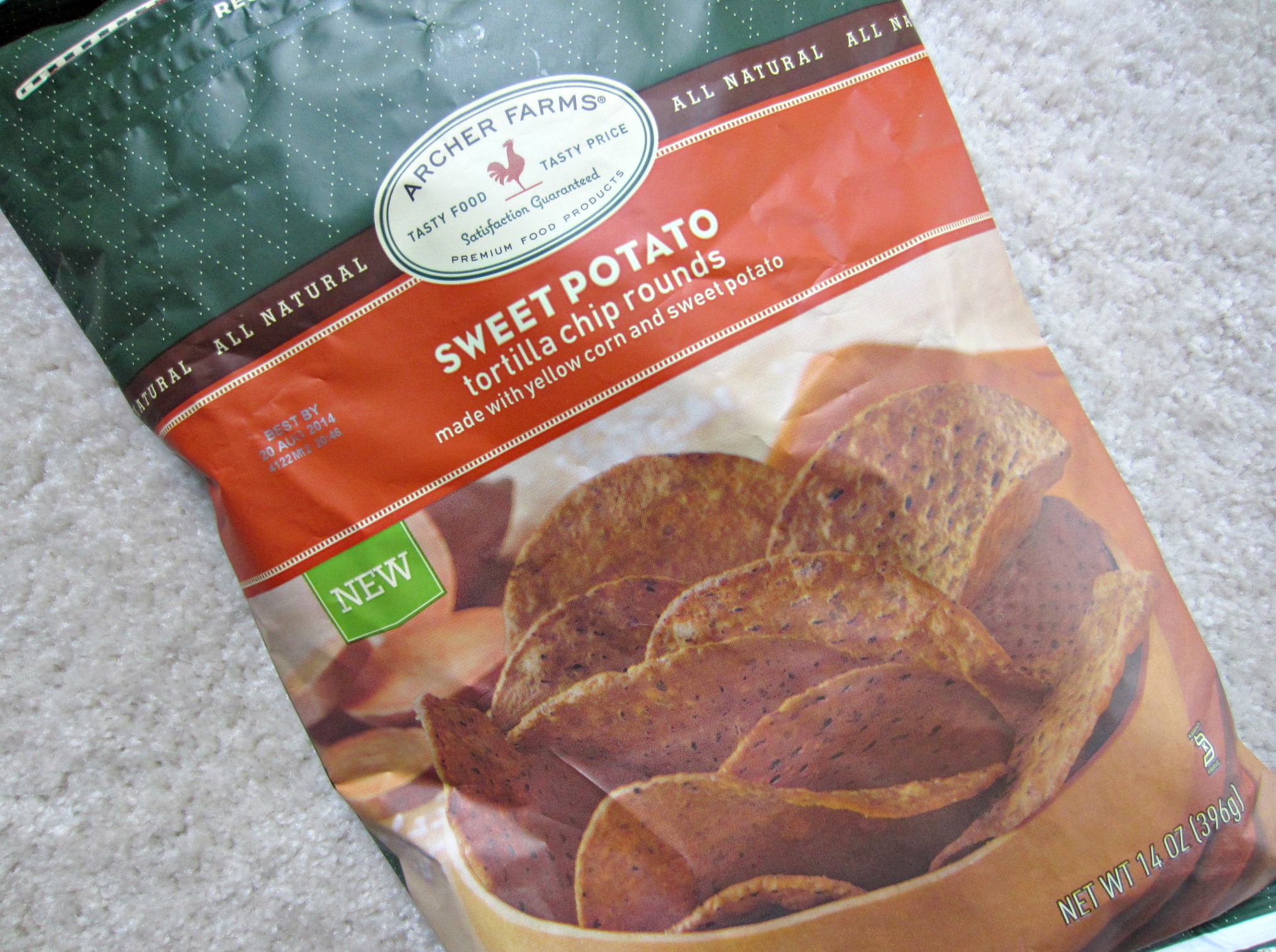 archer farms sweet potato tortilla chips