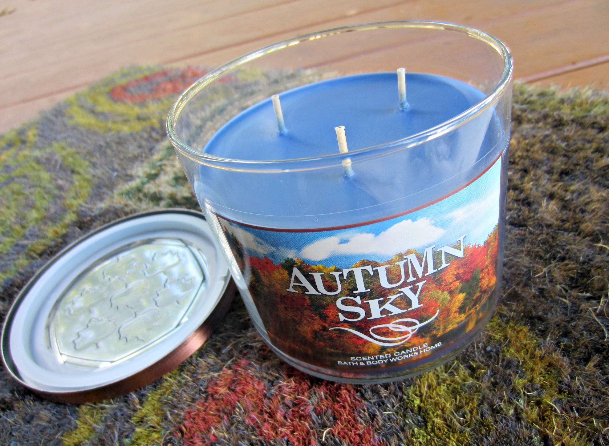 bath and body works autumn candle