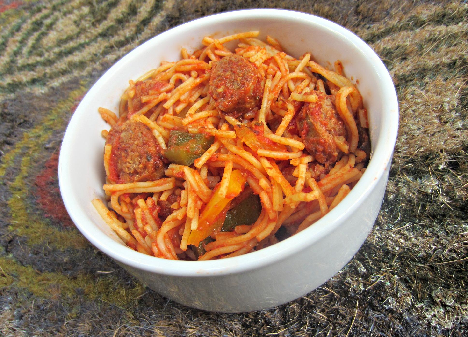turkey italian sausage and gluten free pasta