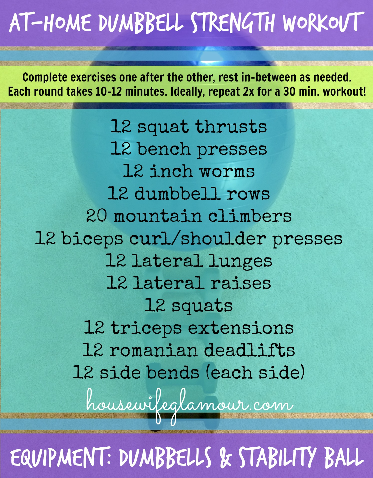 At-Home Dumbbell Strength Training Workout
