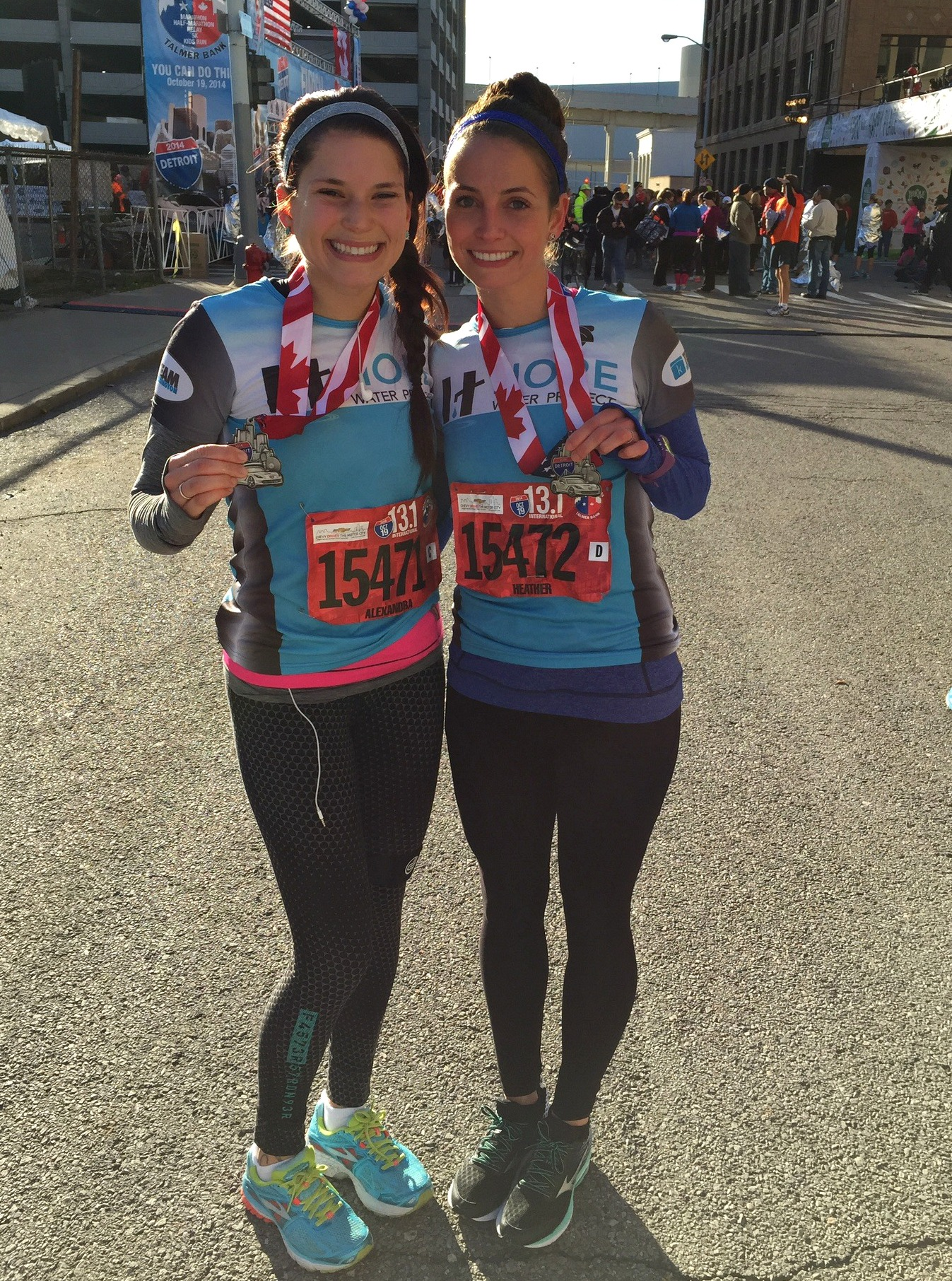 Detroit Free Press Half Marathon Hope Water Project 2014