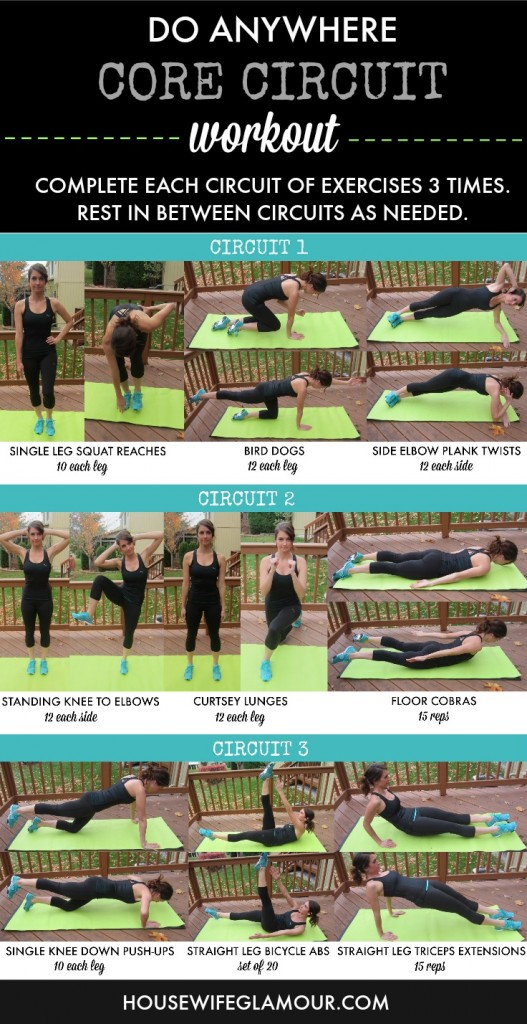 Circuit Training Workouts Without Equipment