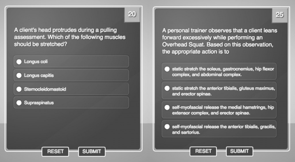 NASM Personal Trainer Flashcards [with NASM Practice ...