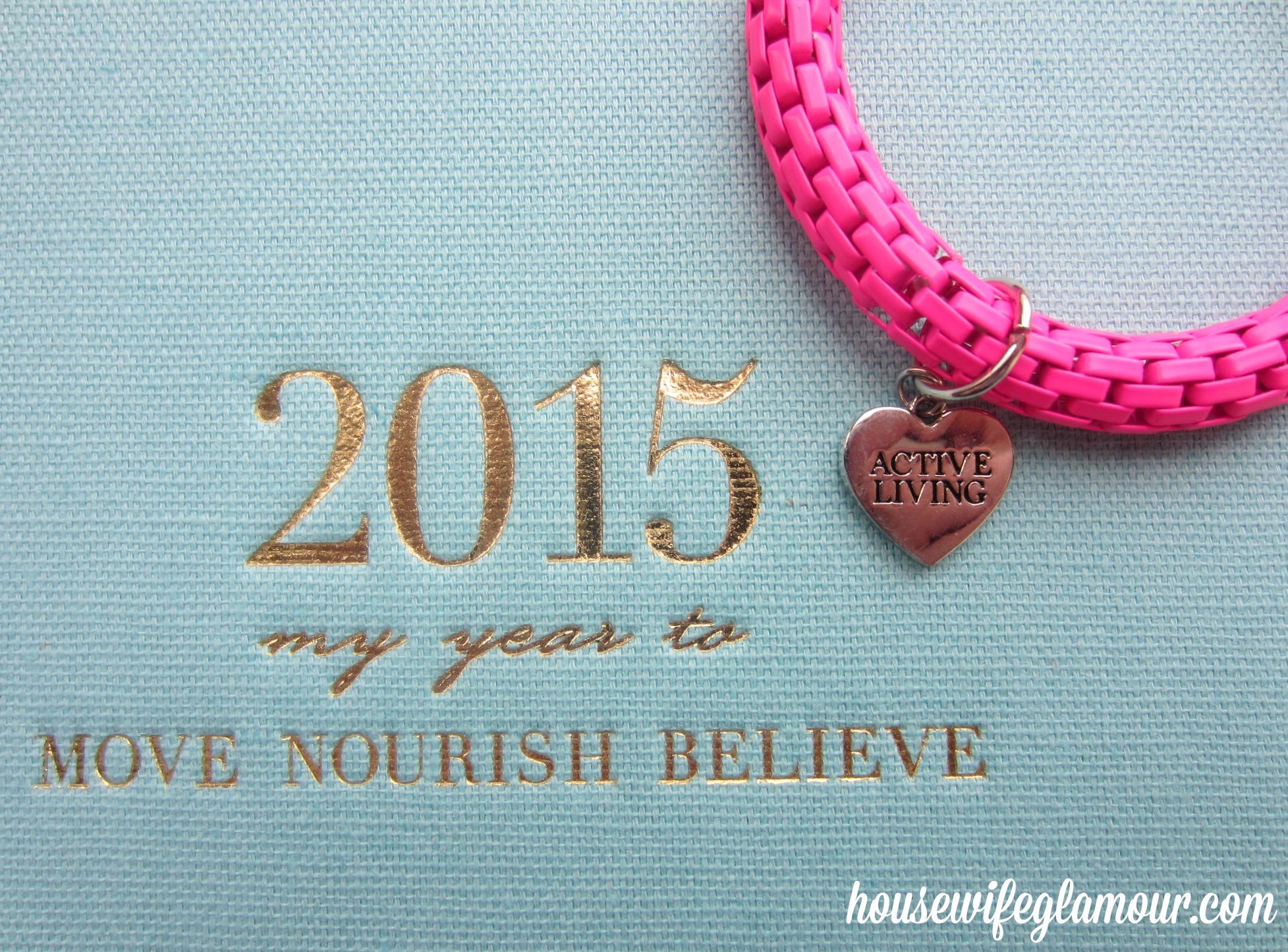 Lorna Jane Move Nourish Believe diary 2015