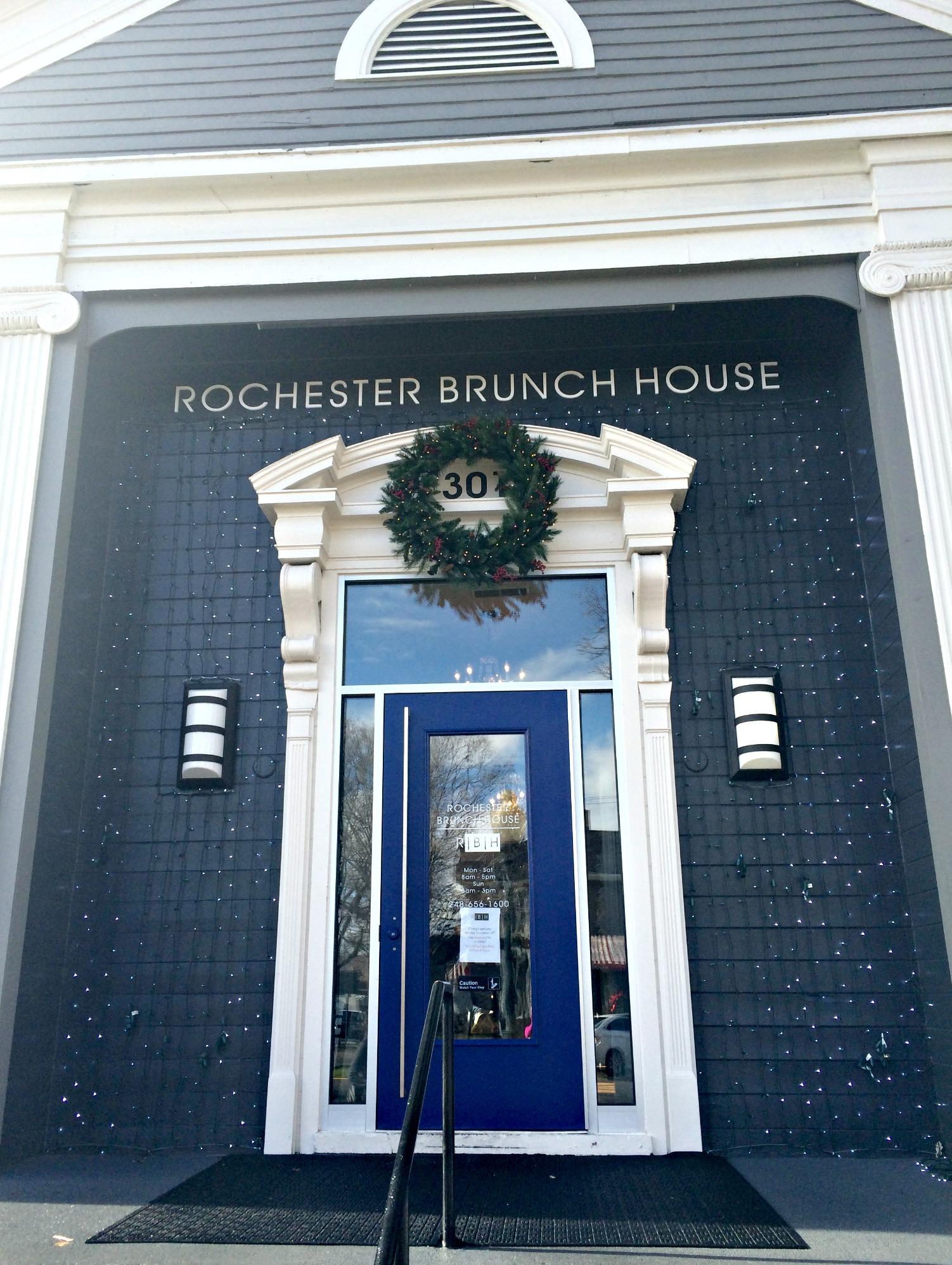 Rochester Brunch House outside