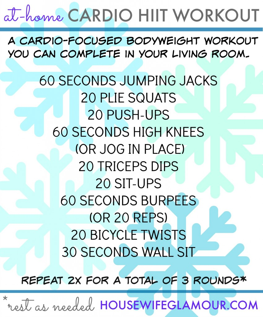 Cardio Workouts In Your Living Room