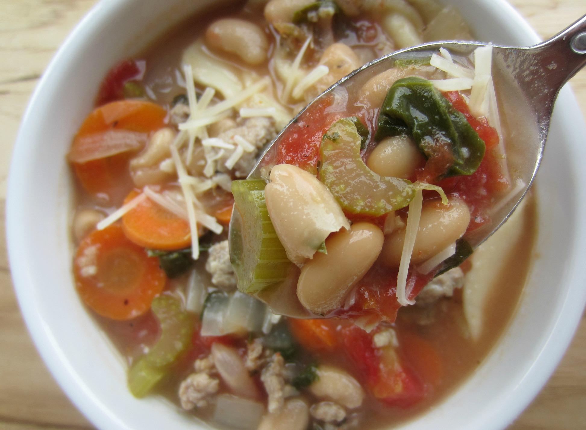 healthy italian tortellini soup