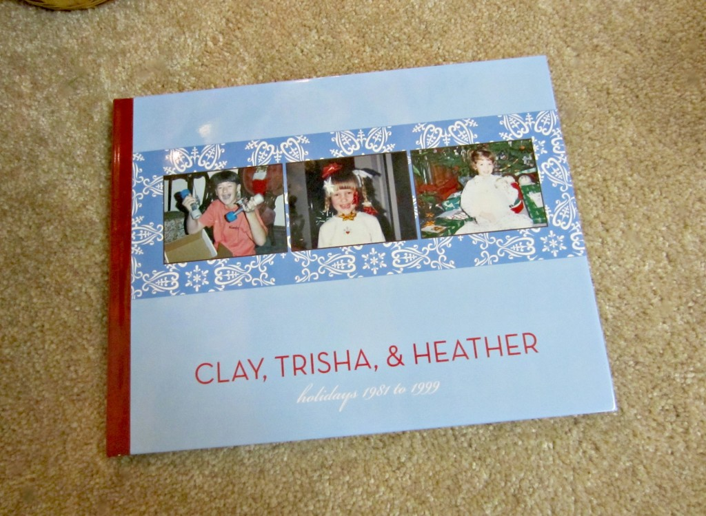 shutterfly christmas family photo book