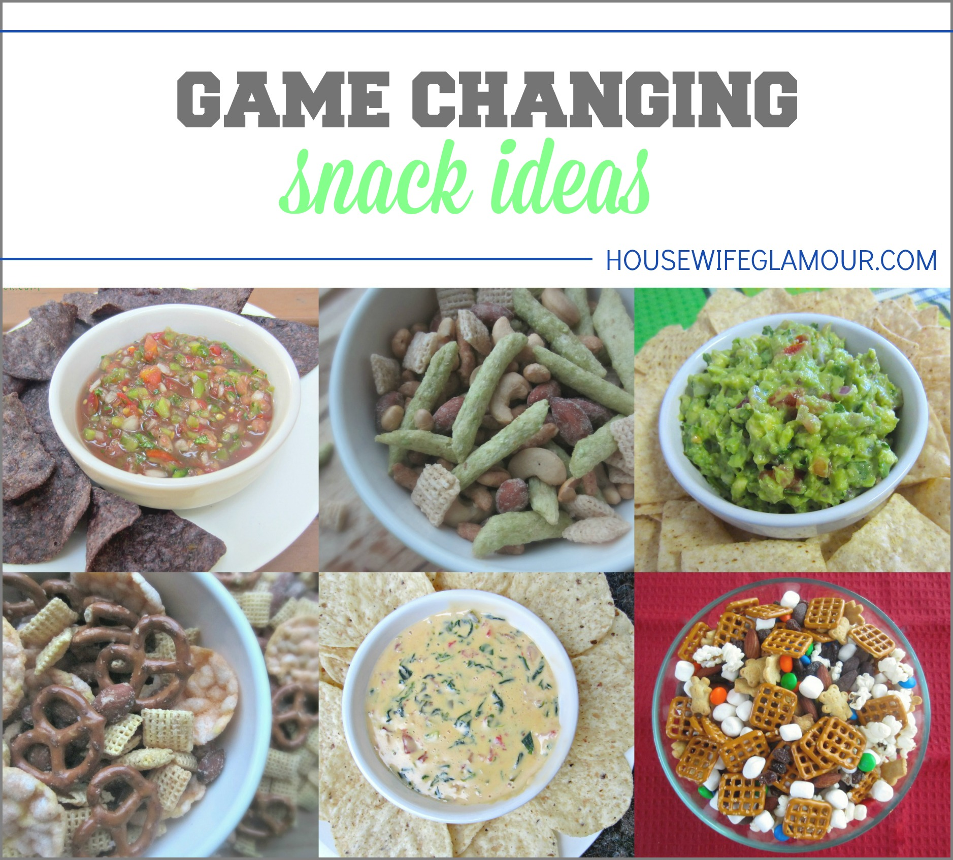 Game Changing Snack Ideas