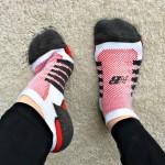 new balance running socks