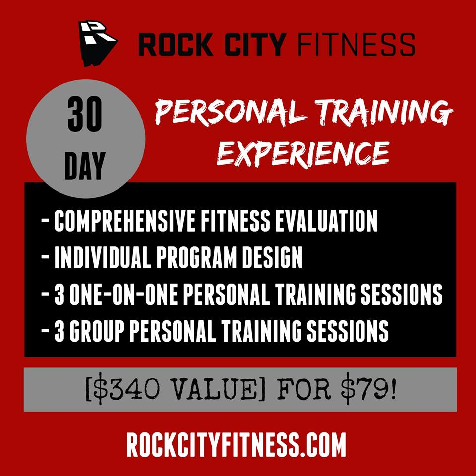 30 Day PT experience rock city fitness