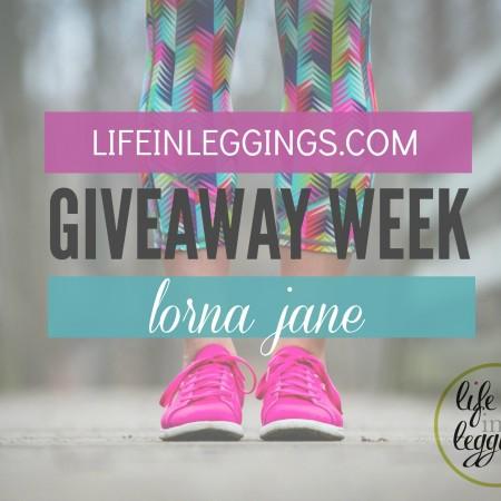 Lorna Jane Life In Leggings Giveaway Week