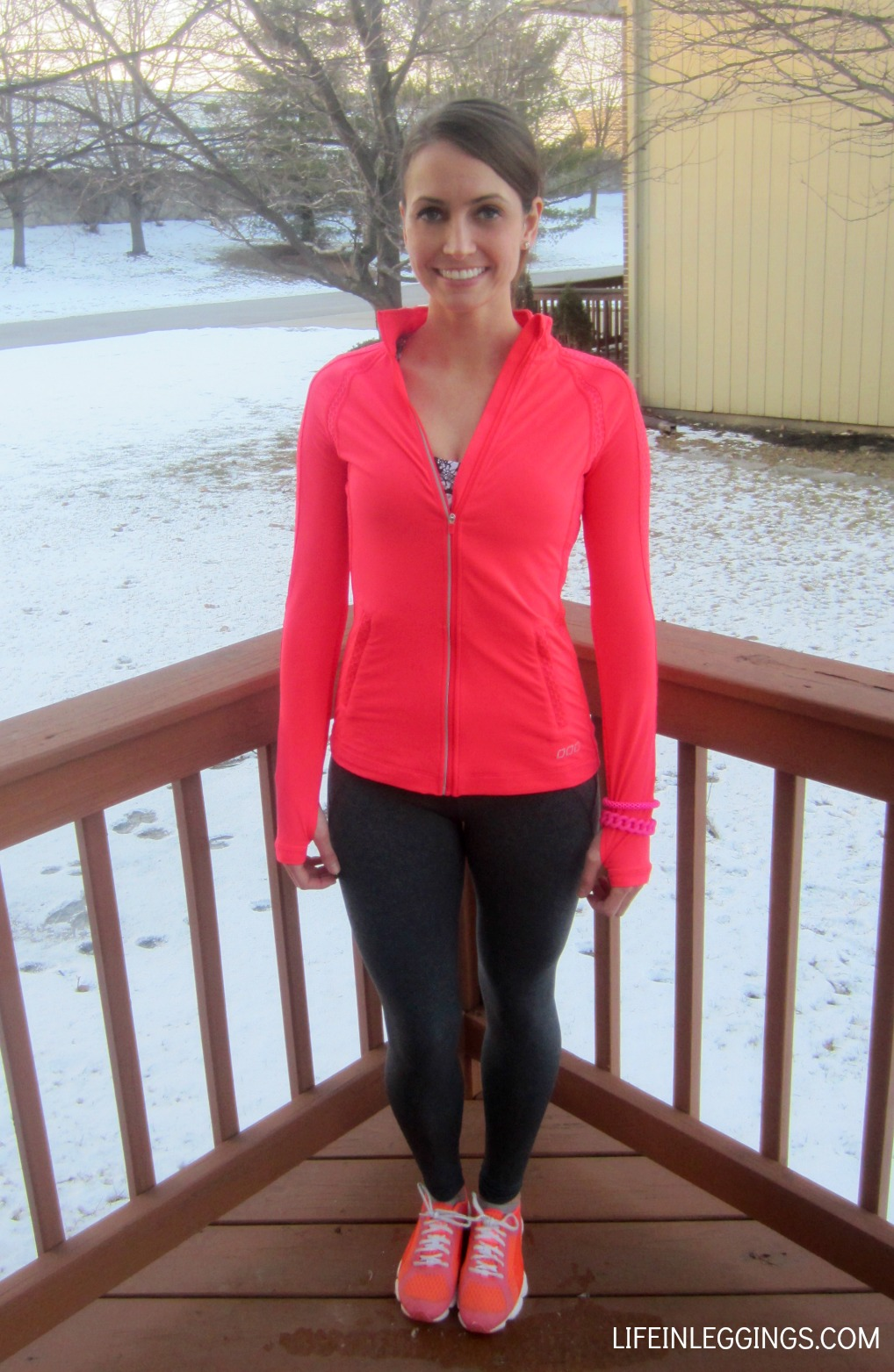 Lorna jane activewear jacket and tight