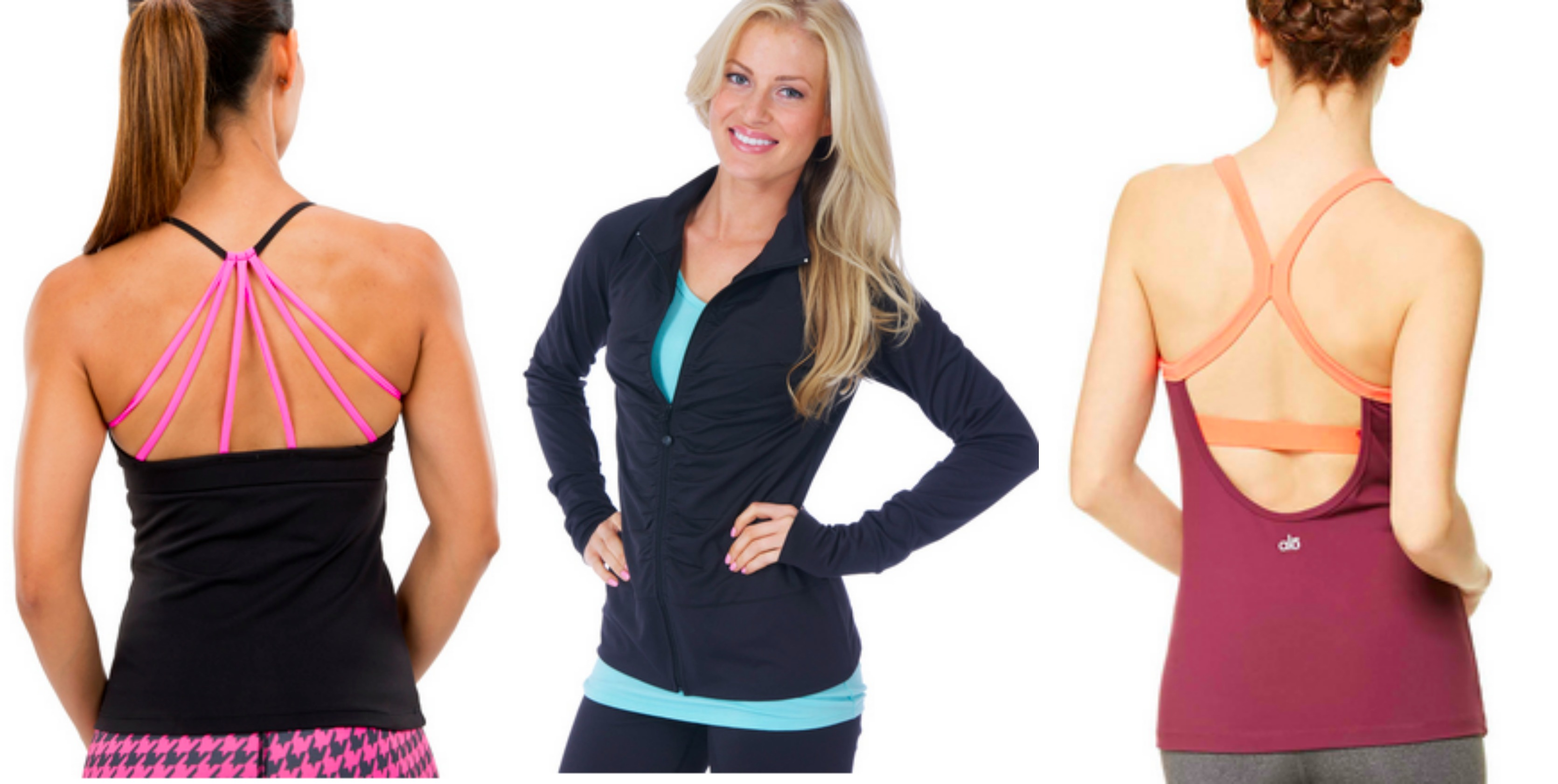 activewear usa tops and jackets