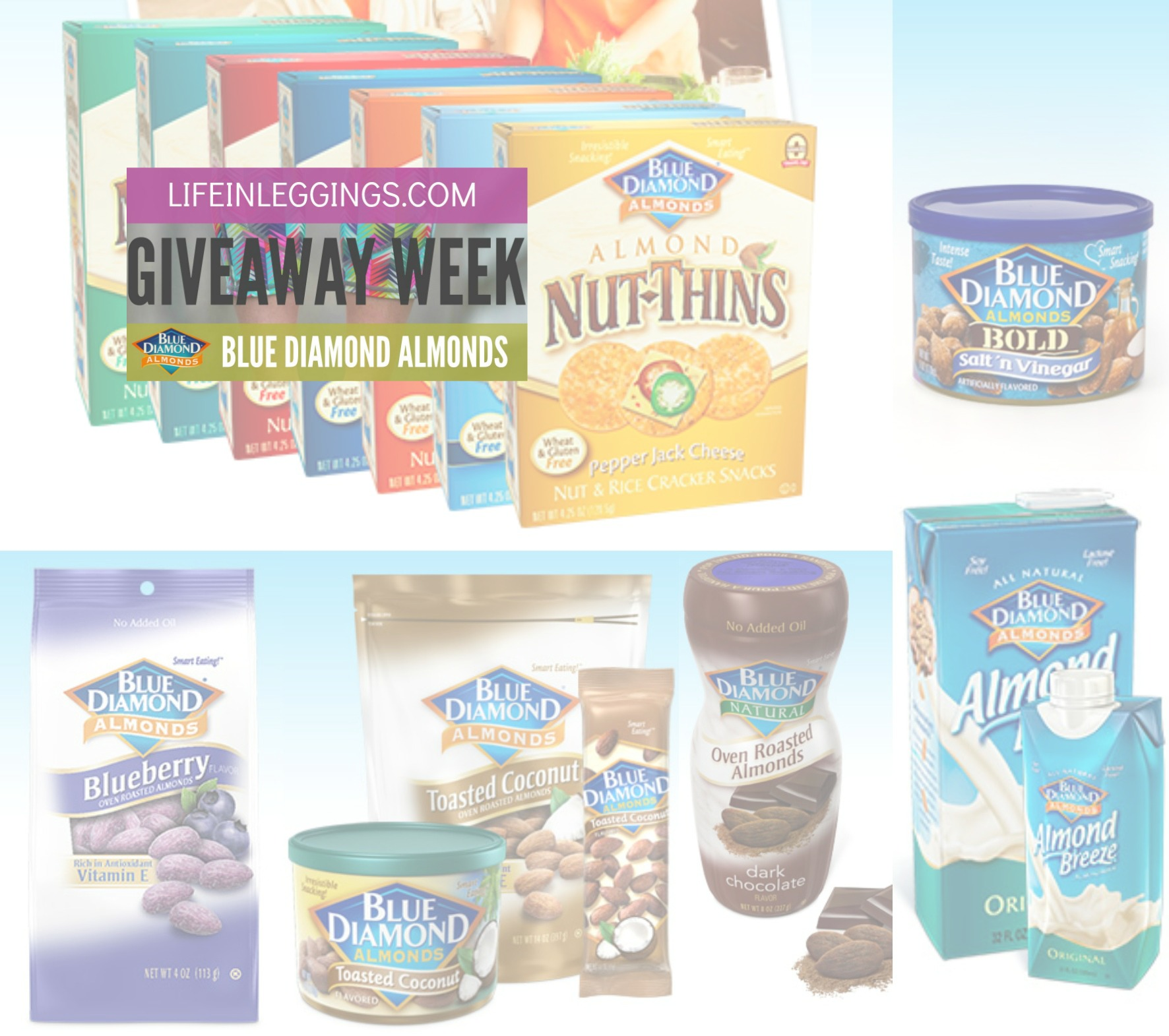 blue diamond almond giveaway package