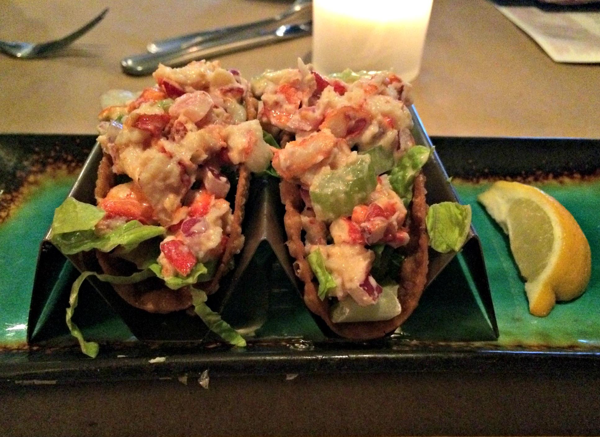 bonefish bar bites lobster tacos