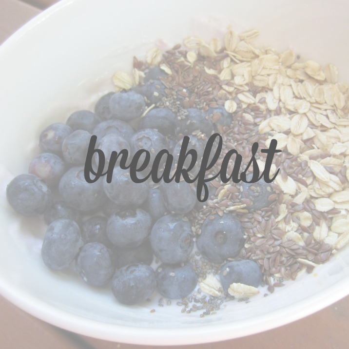breakfast cover page