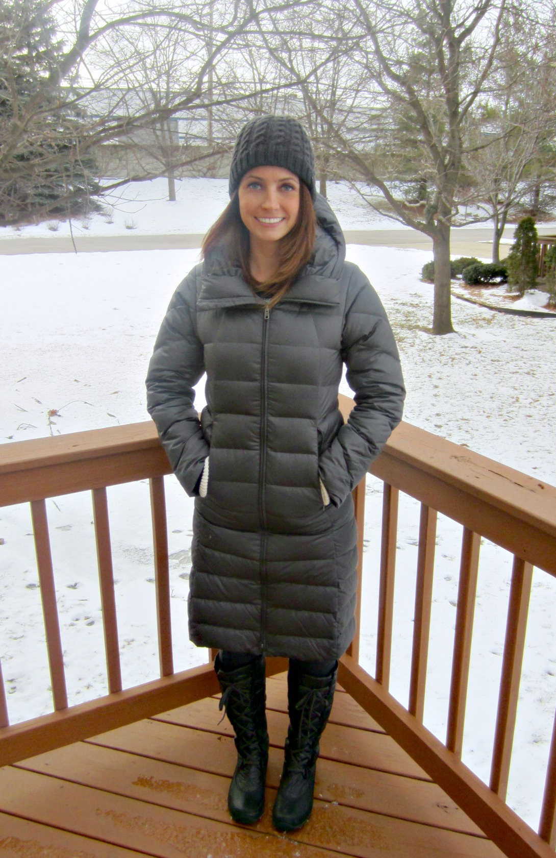 heather in activewearusa patagonia coat