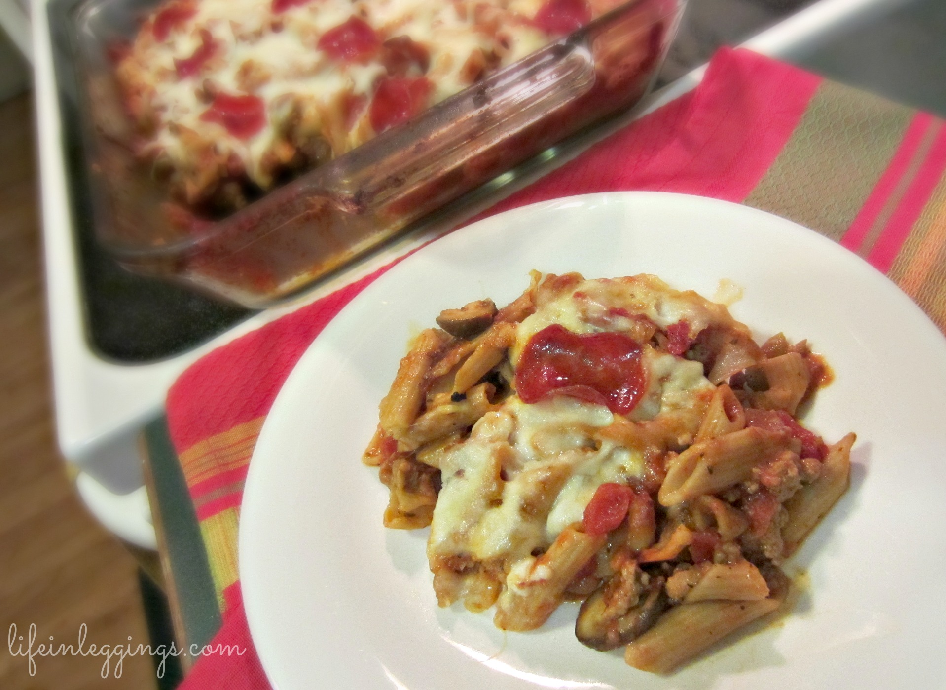 pizza pasta casserole healthy