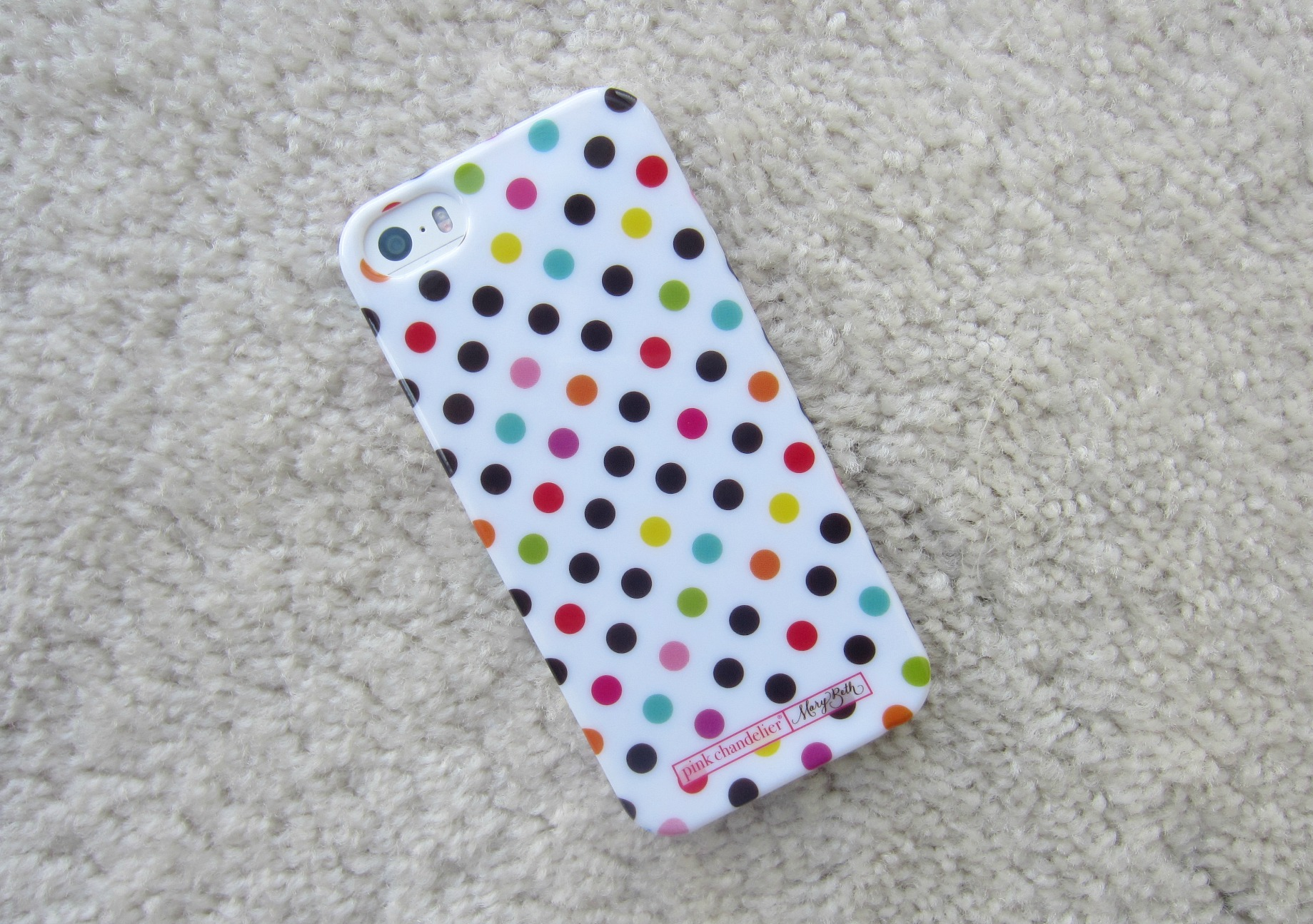 polka dot iphone case pink chandelier five below