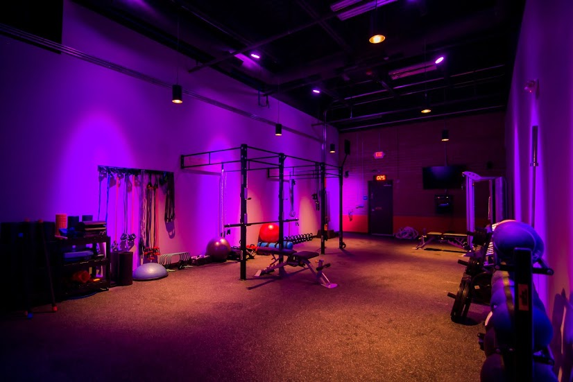 rock city fitness workout floor