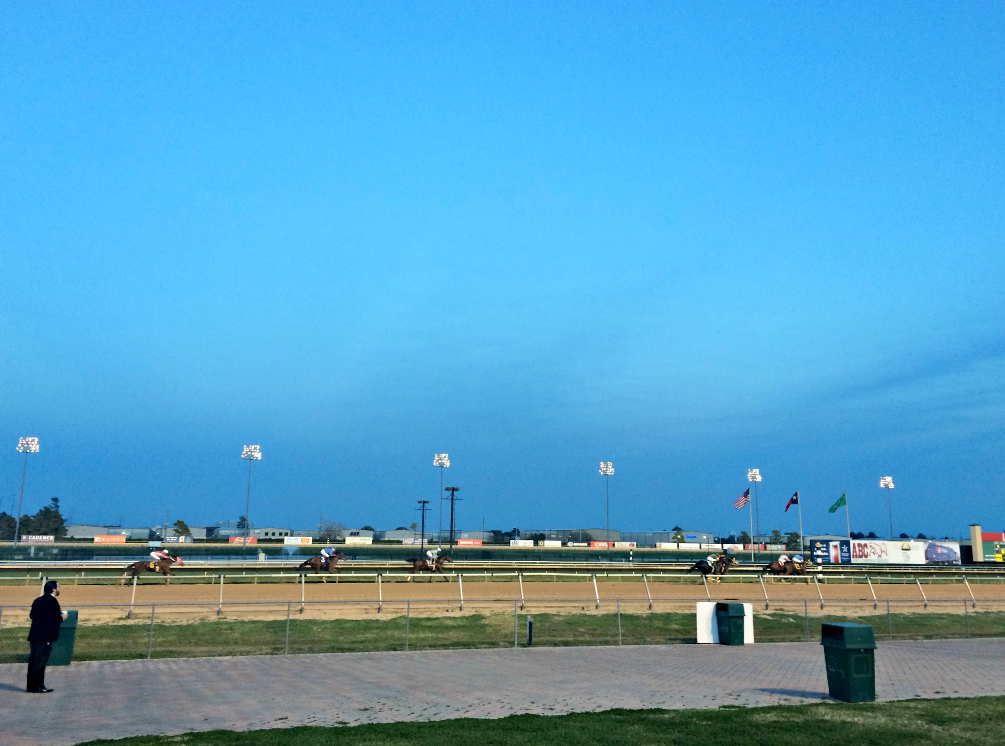 sam houston horse track