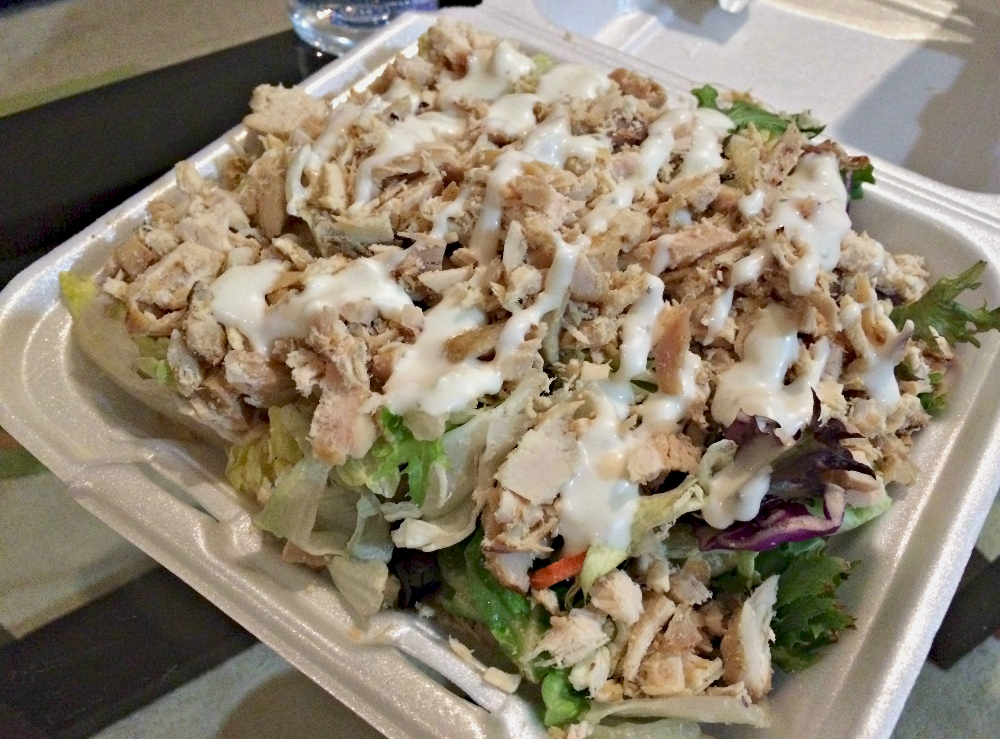 shredded chicken salad yayas