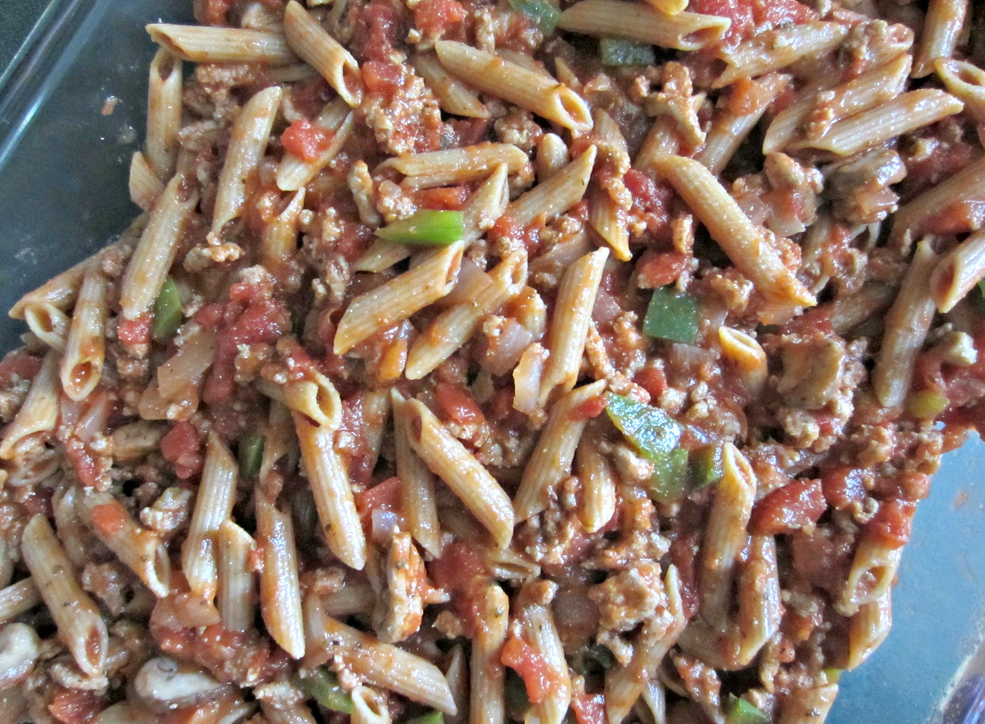 skinny pizza pasta recipe