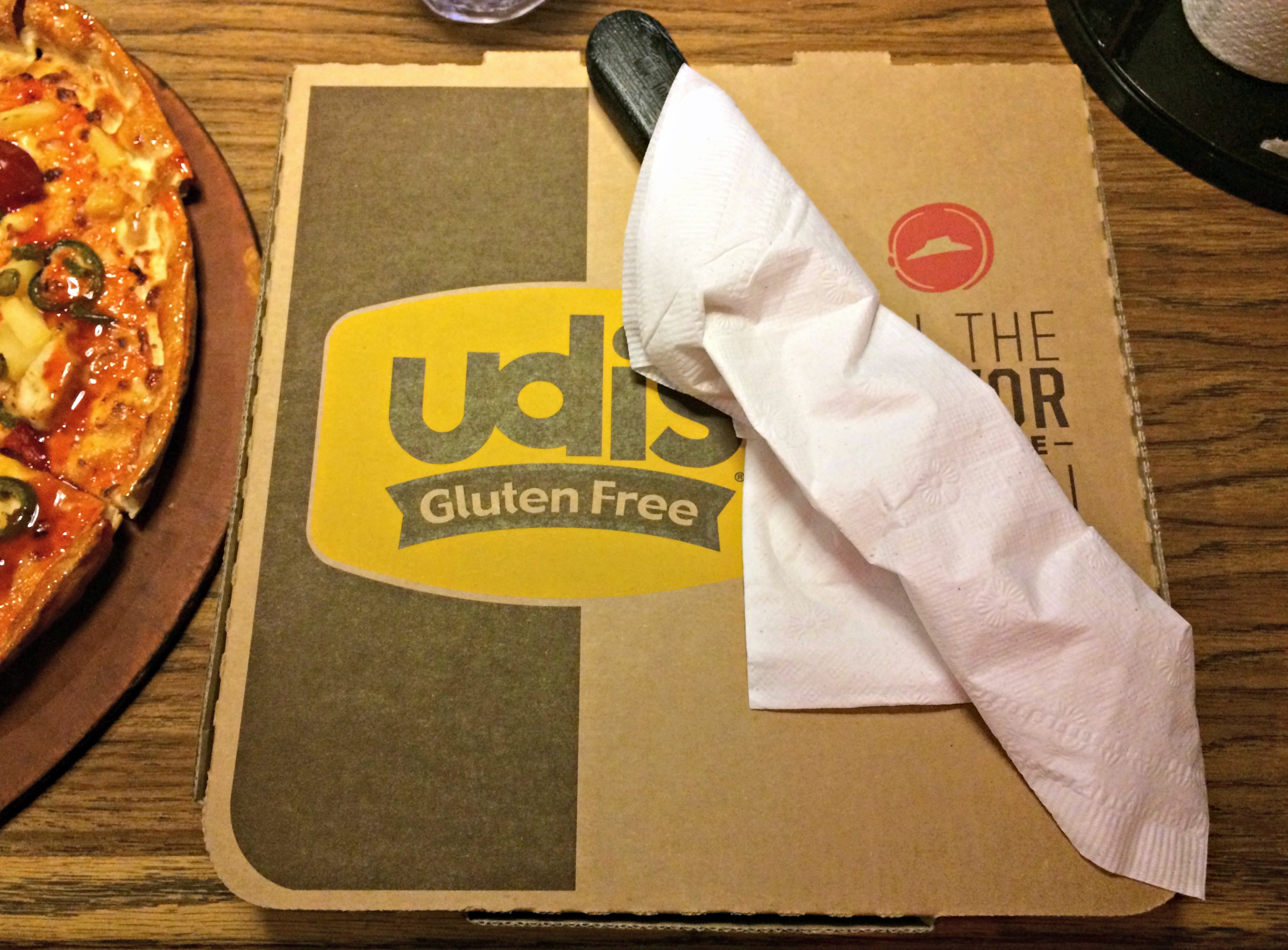 udi's crust at pizza hut