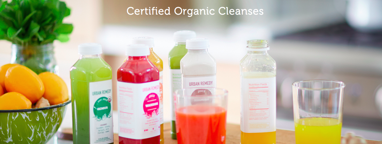 urban remedy certified organic juice cleanse