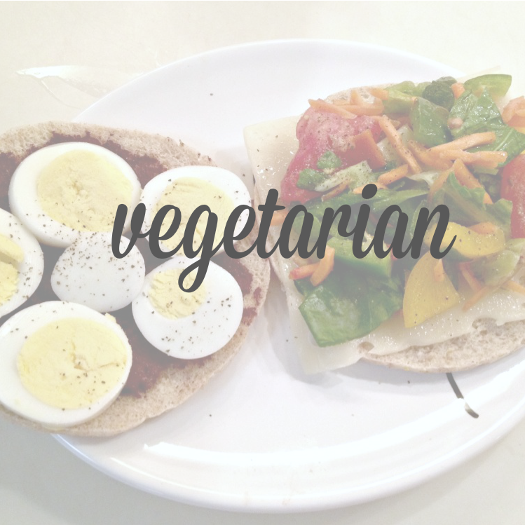 vegetarian cover page