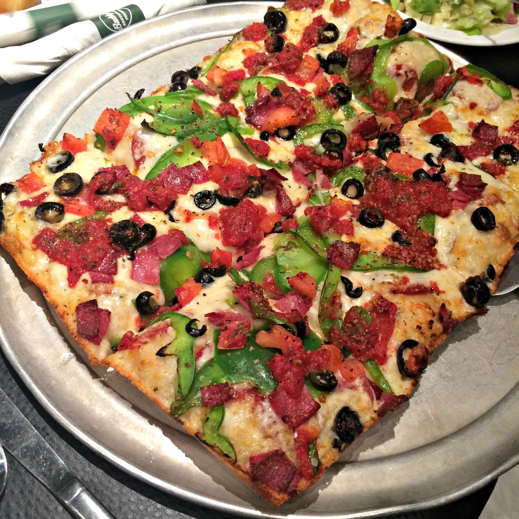 Buddy's Pizza Sicilian Pizza