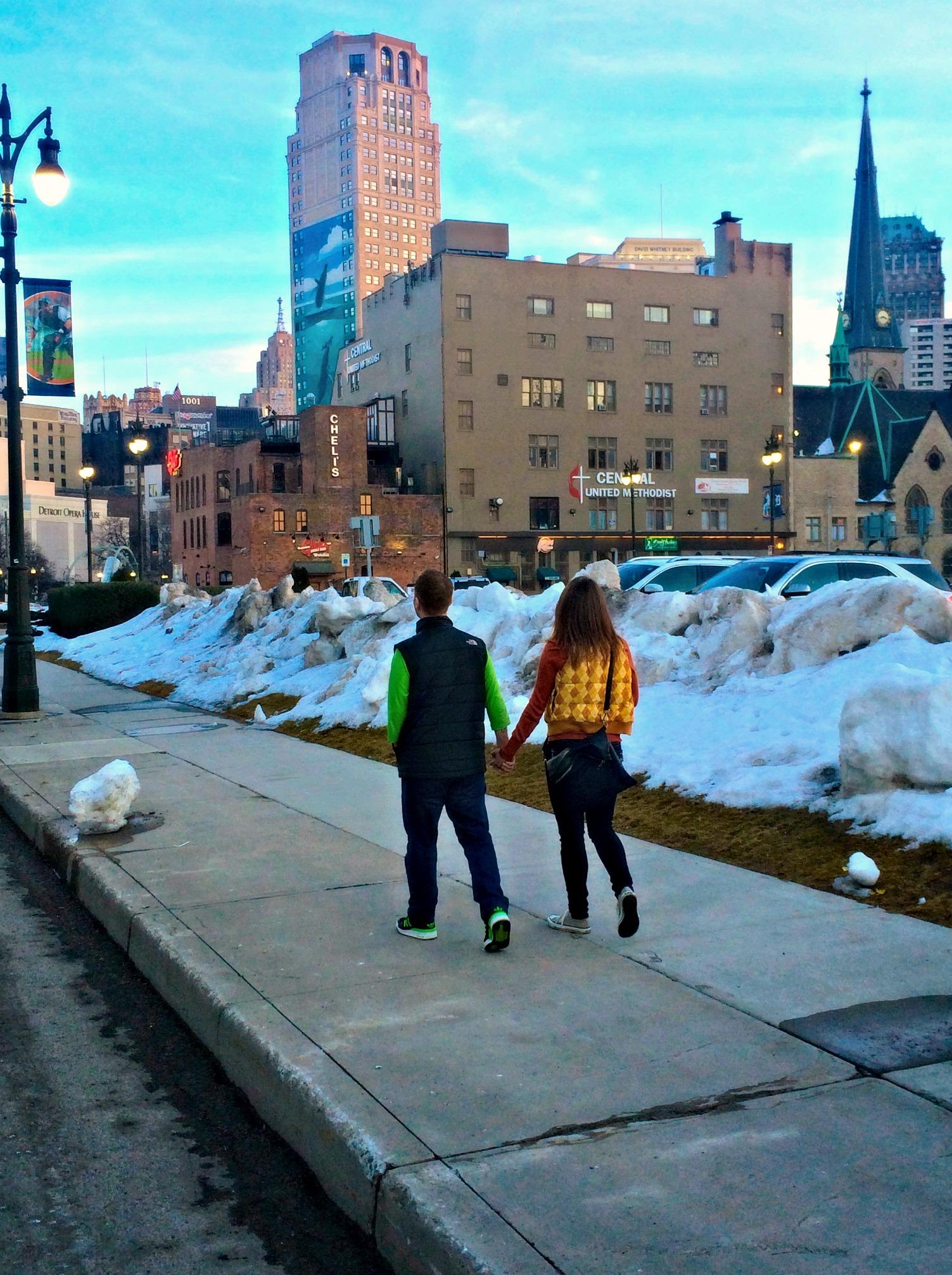 Exploring Downtown Detroit