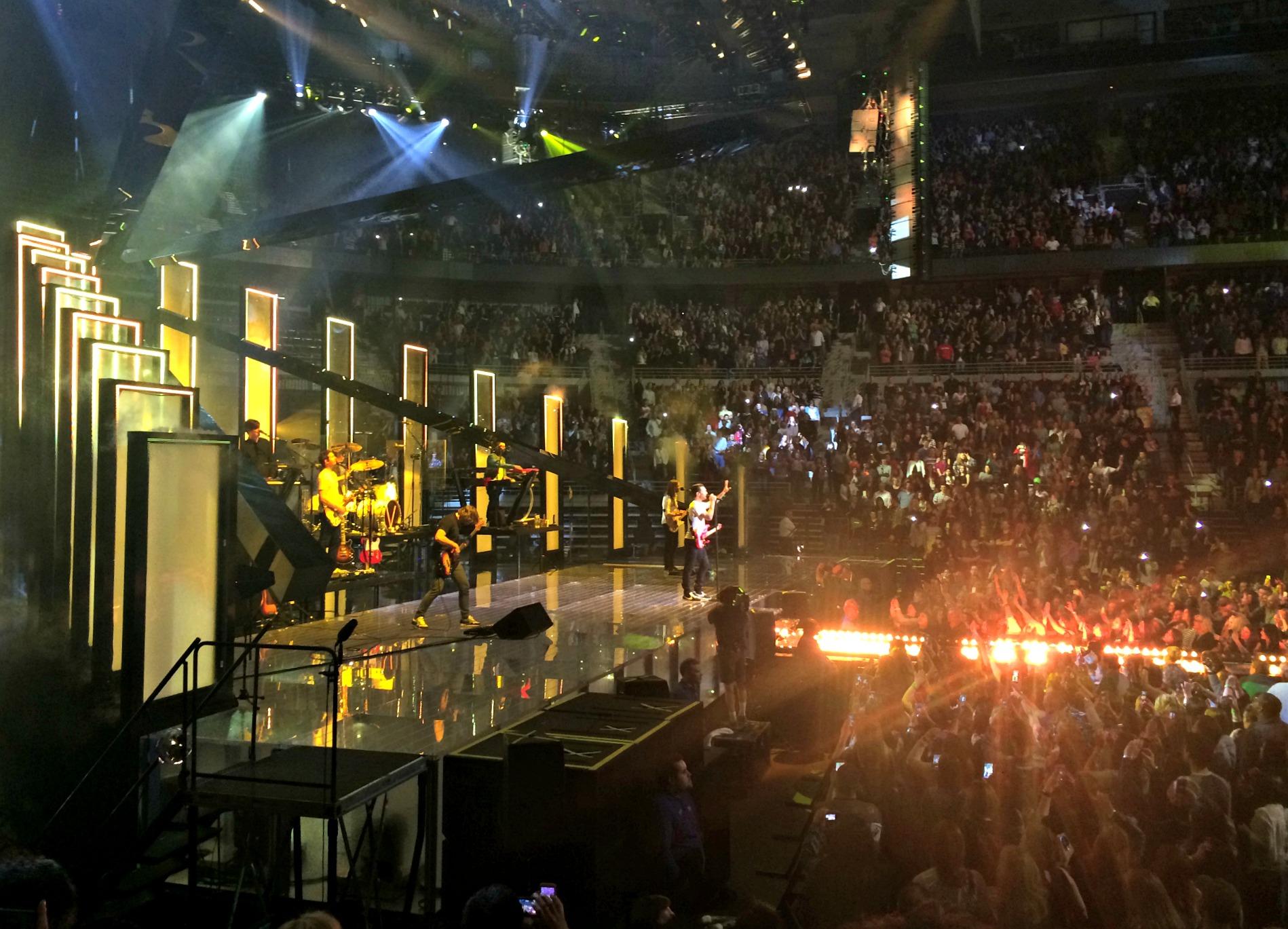 Maroon 5 concert detroit