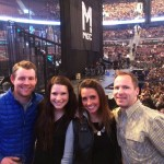 Maroon 5 concert with alex and alex