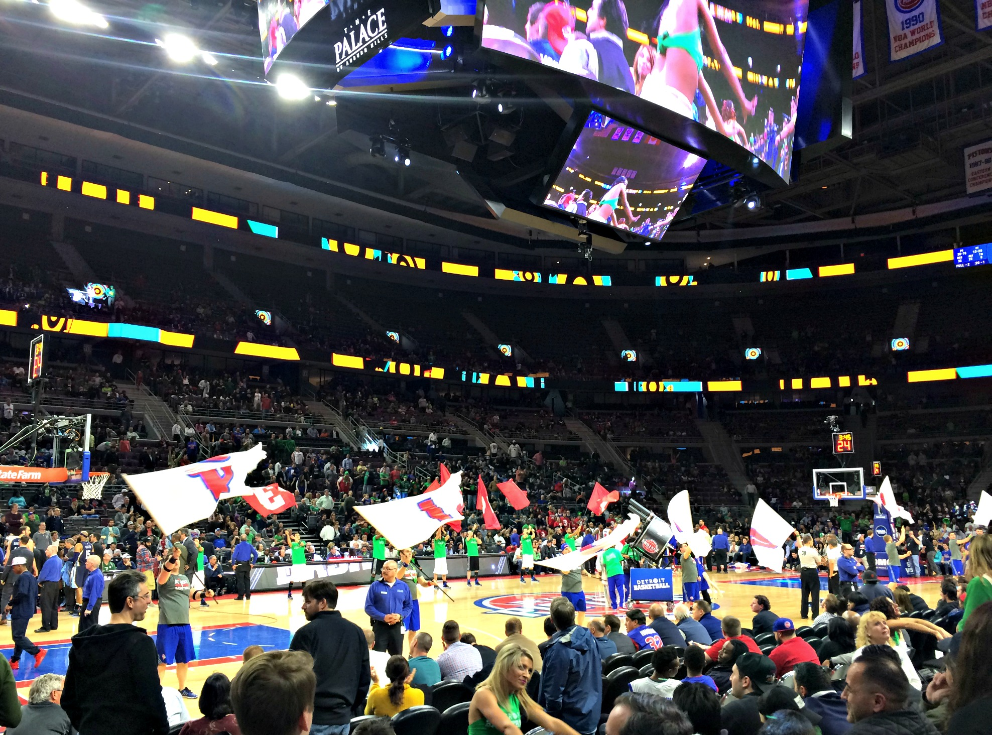 Pistons home game St. Patricks Day