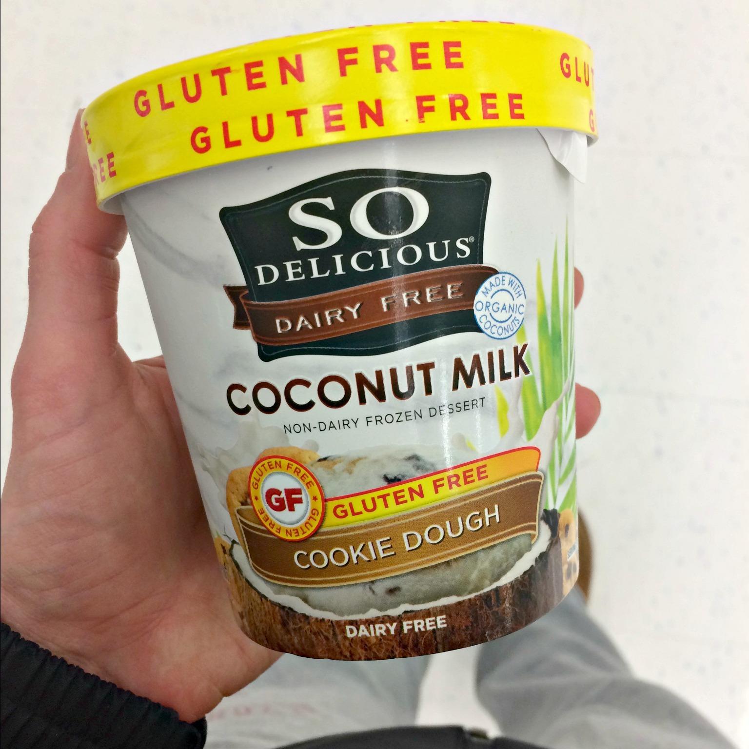 So Delicious Dairy Free Coconut Milk ice cream