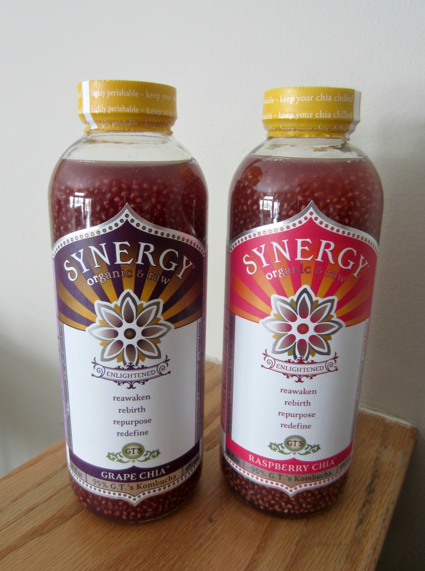 Synergy enlightened chia kombucha