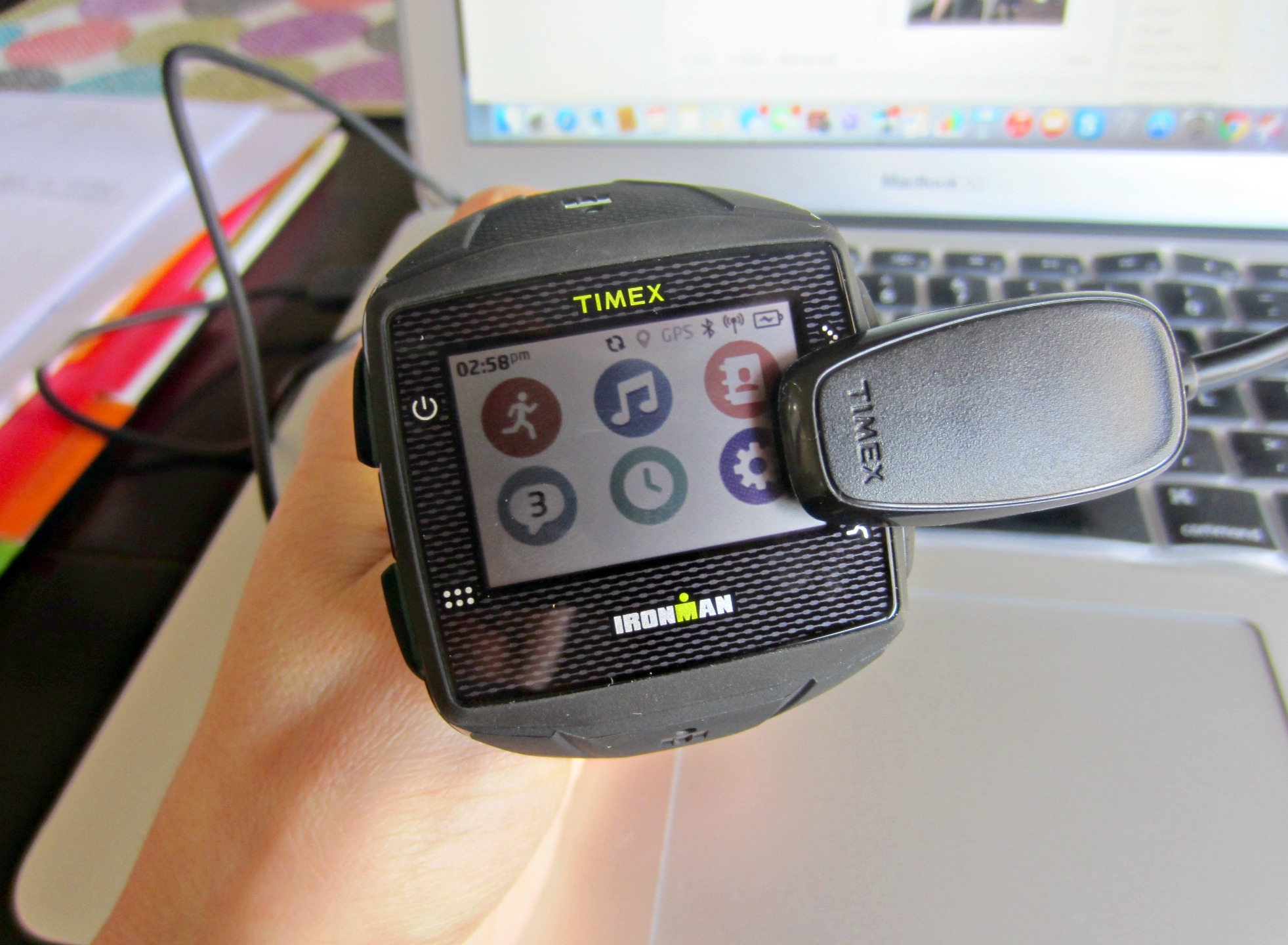 Timex GPS One+ fitness watch