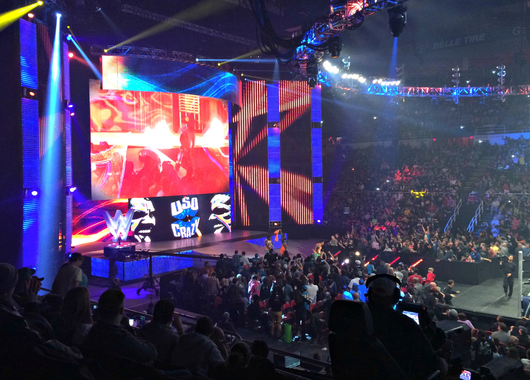 Uso Crazy brothers WWE